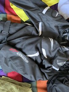 Alpinestars  t-gp plus rv2 air jacket with an extra back support