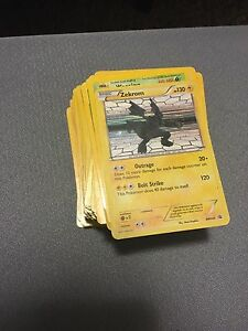 Lot of 150 ish Pokemon Cards