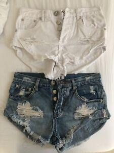 One teasooon bandit shorts size 22