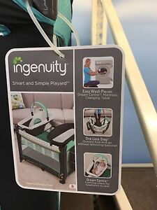 Looking for playpen, with change table, and bassinet attachments