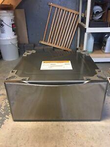 LG Washer and Dryer Pedestals with Storage Drawer