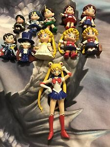 Sailor moon collection  cards and figurines comic Toowong Brisbane North West Preview