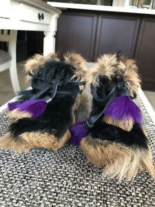 Prada Fur Moccasin Ankle Boots