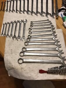 Snap on Wrenches, sockets and breaker bars (Standard)