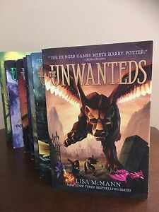 The Unwanteds - 7 books by Lisa McMann