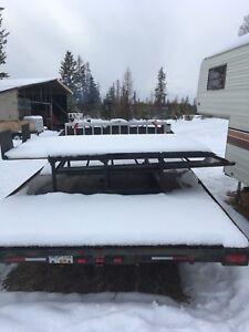 Tilling sled deck