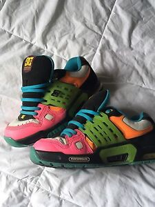 DC shoes multi neon coloured