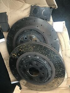Infiniti g37s front rotors and pads