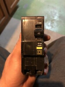 Square D 40 amp GFI breaker (hot tub breaker)