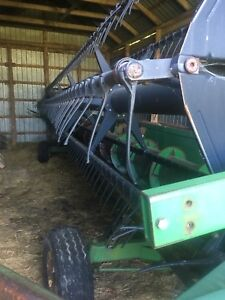 John Deere flex head 1997