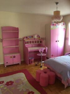 11 Piece Modern Kids Bedroom Set
