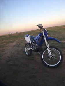 Dirt bike Yamaha wr450f