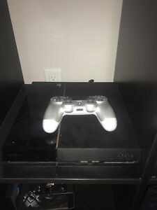 PS4 and assorted games
