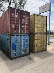 20 ft Used Shipping Containers $2500.00