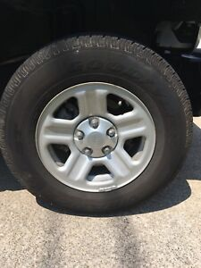 Goodyear Wrangler ST Tires and Jeep Rims Wheels