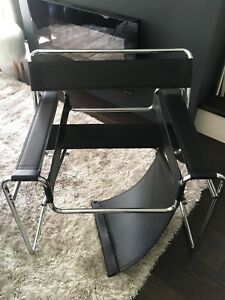 Wassily style chair - broken seat