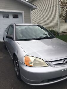 2003 HONDA CIVIC, AUTOMATIC, $1999