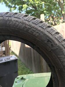 4 pneu d'hivers