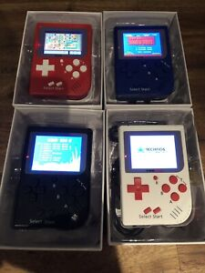 GAMEBOY REPLICA MINI HANDHELD GAME WITH 129 BUILT-IN GAMES!