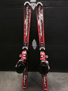 Skis,bindings and boots