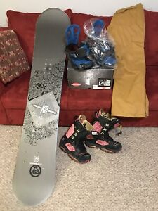 Snowboarding Package