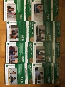 Manhattan Prep GRE complete set - Strategy Guides