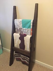 Handmade new blanket ladder