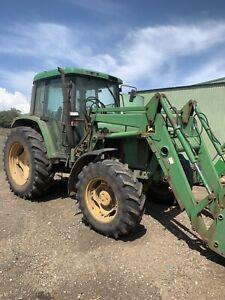Tractor John Deere 6210 premium loader