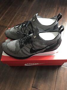 Size 13 Nike Flyknit Mariah Racer
