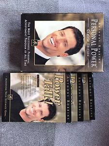 Anthony Robbins Personal Power and Power Talk Audio CD's Kurri Kurri Cessnock Area Preview