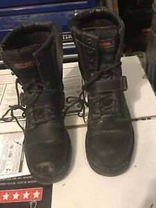 Harley Davidson Motorcycle boots - size 10