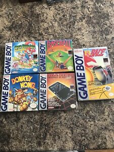 Original GameBoy Games in Box