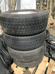 4 pneu hiver 17 pouce