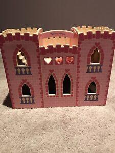 Melissa and Doug fold and go castle