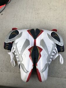 Air Jordan Olympic 7s size 8.5, 9/10 condition