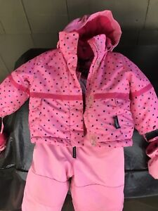 Girl snowsuit size 12 months or 20 lbs