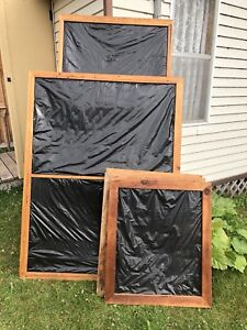 WINTER WINDOW PROTECTORS OR LARGE PICTURE FRAMES