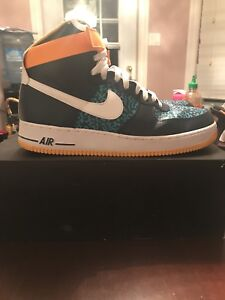 "Nike Air Force  1 ""Turbo Green"" (SIZE 12.5)"