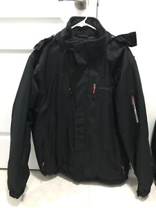 MENS BLACK WINTER JACKET - like new!