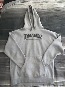 Thrasher x HUF Sweater Sz L