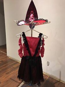 Pretty Witch Child Costume