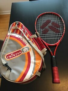 Kids tennis racquet with a carrying bag