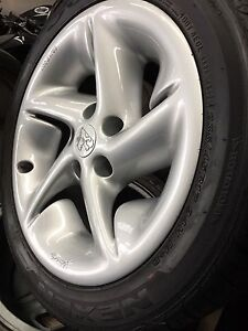 HOLDEN HSV SV VN SS GROUP A GENUINE 17X8 ALLOY WHEELS Craigieburn Hume Area Preview
