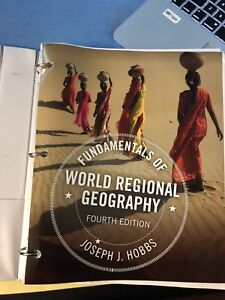 ISO Fundamentals  of World Regional Geography text book
