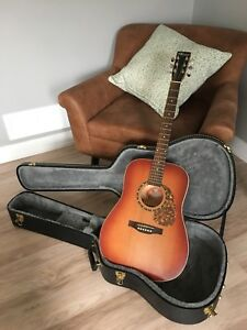 Mint condition Canadian made Norman B18 Guitar with case