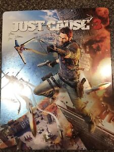 Just Cause 3 Steel Book PS4