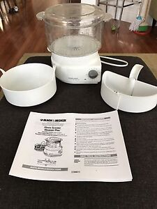 Black and Decker HS900 Food and Rice Steamer