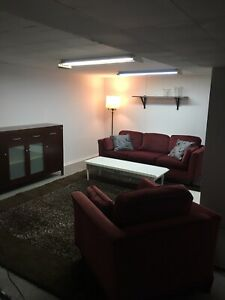 Basement River heights - furnished, utilities included