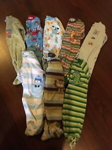 Boys sleepers 6-9 months Lot #8
