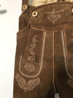 Genuine Suede Leather Lederhosen from Germany